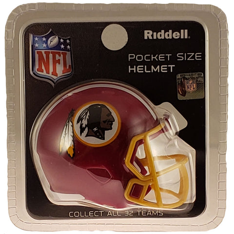 Washington Redskins Riddell Speed Pocket Pro Helmet