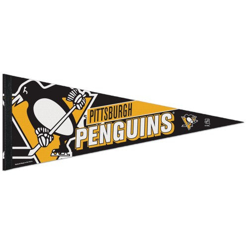 "Pittsburgh Penguins 12""x30"" Premium Pennant"
