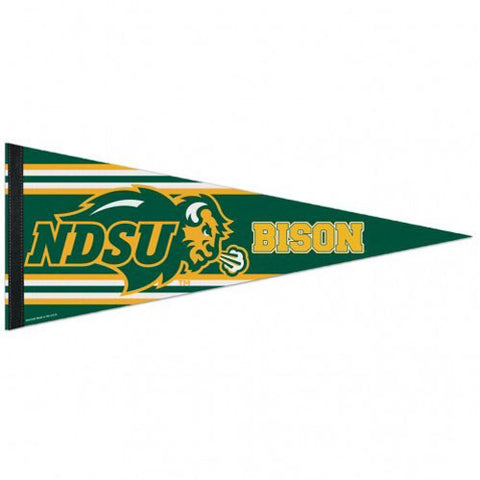 "North Dakota State Bison 12""x30"" Premium Pennant"