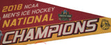"Minnesota Duluth Bulldogs 2018 Hockey National Champions 12""x30"" Premium Pennant 3"