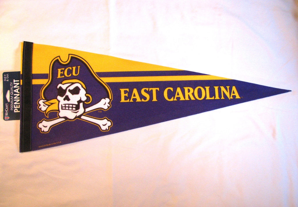 "East Carolina Pirates 12""x30"" Premium Pennant"