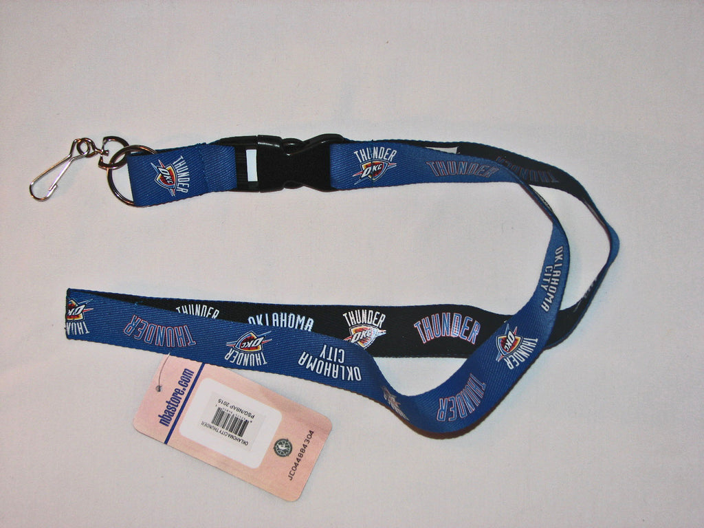 "Oklahoma City Thunder 24"" Two Tone Breakaway Lanyard"