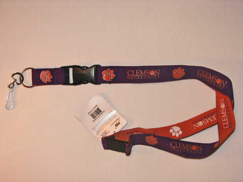 "Clemson Tigers 24"" Two Tone Breakaway Lanyard"