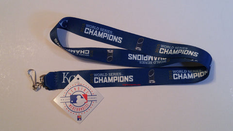 "Kansas City Royals 2015 World Series Champions 19"" Breakaway Lanyard"