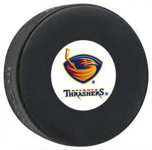 Atlanta Thrashers Hockey Puck