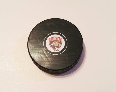 Florida Panthers 2016-2017 Logo Hockey Puck