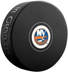 New York Islanders Hockey Puck