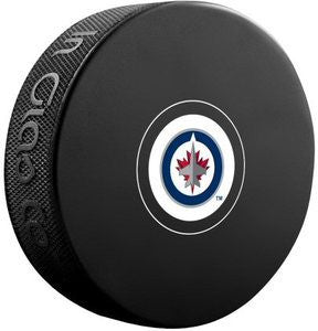 Winnipeg Jets Hockey Puck