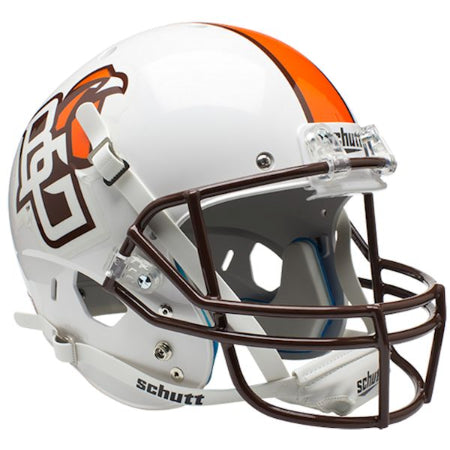 Bowling Green Falcons White Schutt XP Replica Helmet - Alternate 1