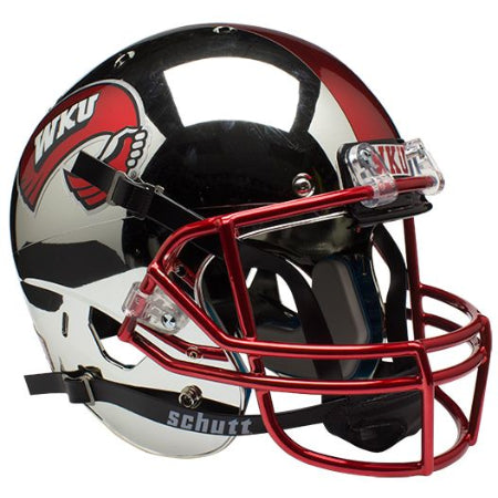 Western Kentucky Hilltoppers Chrome Schutt XP Replica Helmet - Alternate 1