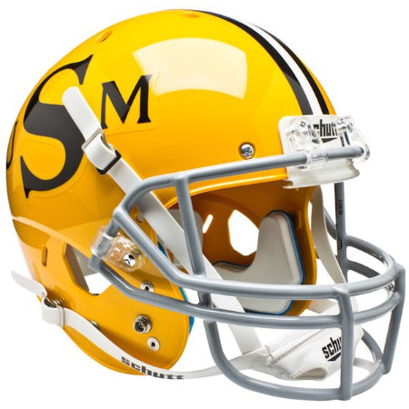 Southern Mississippi Golden Eagles Gold Schutt XP Replica Helmet - Alternate 1