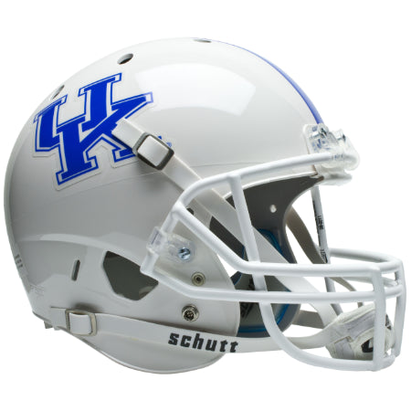 Kentucky Wildcats White Schutt XP Replica Helmet - Alternate 1