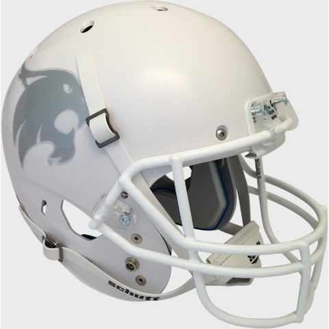 Texas State Bobcats White Schutt XP Replica Helmet - Alternate 1