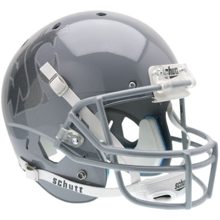Washington State Cougars Grey Schutt XP Replica Helmet - Alternate 1