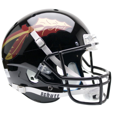 Florida State Seminoles Black Schutt XP Replica Helmet - Alternate 1