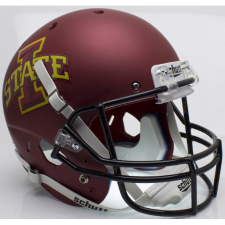 Iowa State Cyclones Matte Maroon Schutt XP Replica Helmet - Alternate 1