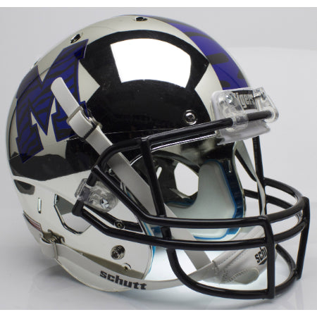 Memphis Tigers Chrome Schutt XP Replica Helmet - Alternate 1