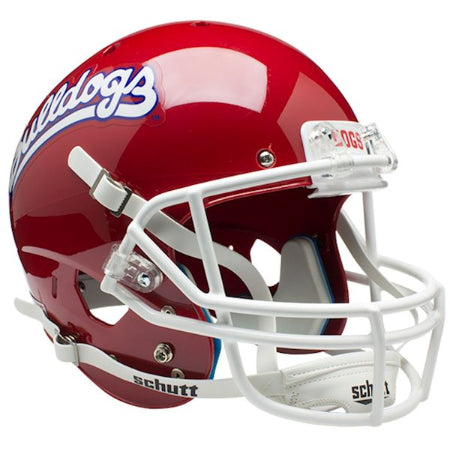 Fresno State Bulldogs Retro Logo Schutt XP Replica Helmet - Alternate 1
