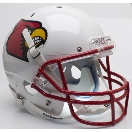 Louisville Cardinals Red Mask Schutt XP Replica Helmet - Alternate 1