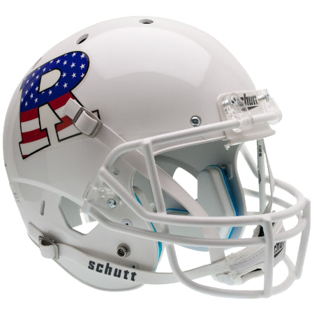 Rutgers Scarlet Knights Stars & Stripes Schutt XP Replica Helmet - Alternate 1