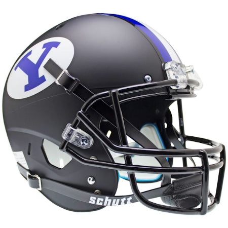 BYU Cougars Black Schutt XP Replica Helmet - Alternate 1