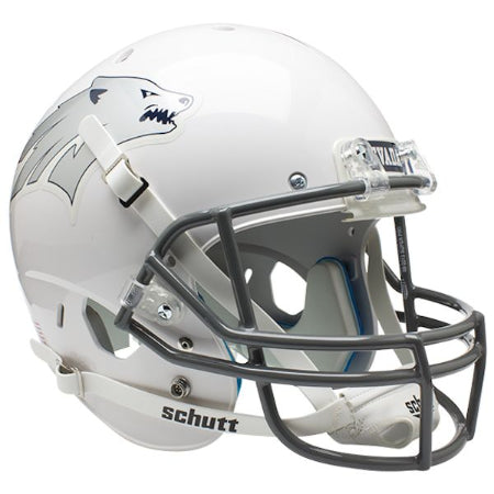 Nevada Wolfpack White Schutt XP Replica Helmet - Alternate 1