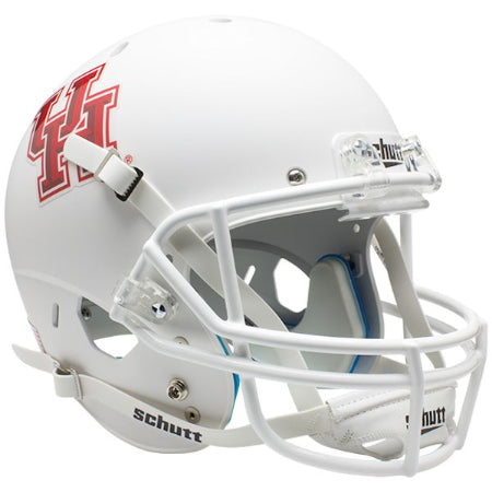 Houston Cougars Matte White Schutt XP Replica Helmet - Alternate 1