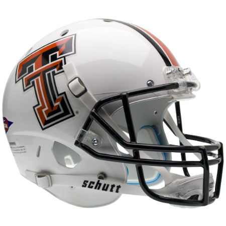 Texas Tech Red Raiders White Schutt XP Replica Helmet - Alternate 1