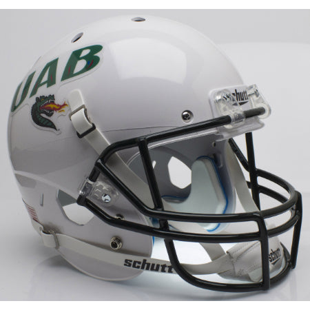 Alabama Birmingham UAB Blazers White Schutt XP Replica Helmet - Alternate 1