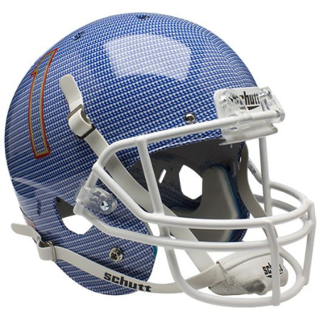 Tulsa Golden Hurricane Carbon Fiber Schutt XP Replica Helmet - Alternate 1