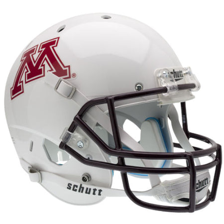 Minnesota Golden Gophers White Schutt XP Replica Helmet - Alternate 1
