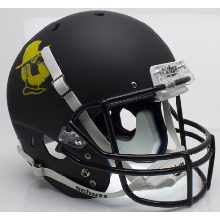 Appalachian State Mountaineers Yosef Black Schutt XP Replica Helmet - Alternate 1