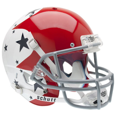 Air Force Falcons Thunderbirds Tribute Schutt XP Replica Helmet - Alternate 1