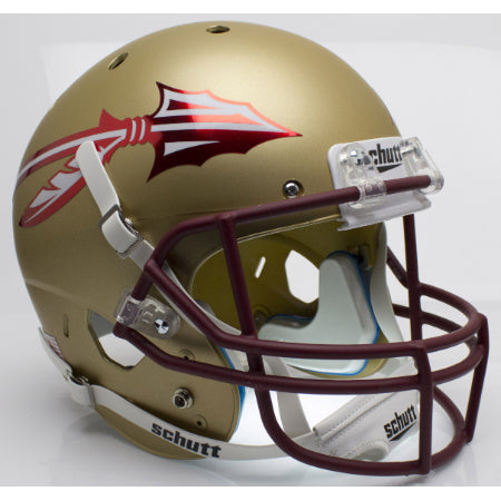 Florida State Seminoles Chrome Decal Schutt XP Replica Helmet - Alternate 2