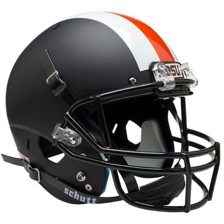 Oregon State Beavers Black with Stripe Schutt XP Replica Helmet - Alternate 2