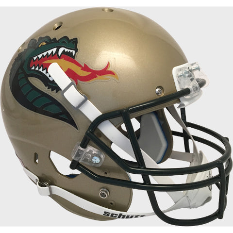 Alabama Birmingham UAB Blazers Gold with Large Logo Schutt XP Replica Helmet - Alternate 2