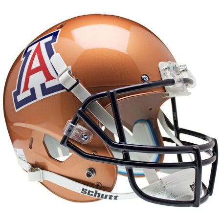 Arizona Wildcats Copper Schutt XP Replica Helmet - Alternate 2