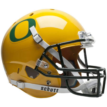 Oregon Ducks Gold Schutt XP Replica Helmet - Alternate 2