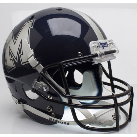 Memphis Tigers Chrome Decal Schutt XP Replica Helmet - Alternate 2