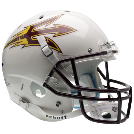 Arizona State Sun Devils White Schutt XP Replica Helmet - Alternate 2