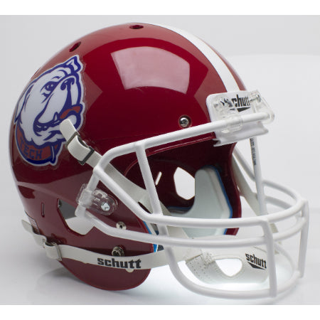 Louisiana Tech Bulldogs Bulldog Logo Schutt XP Replica Helmet - Alternate 2