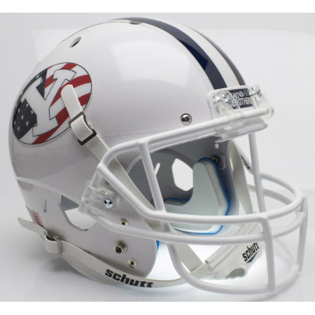BYU Cougars Never Forget Schutt XP Replica Helmet - Alternate 2