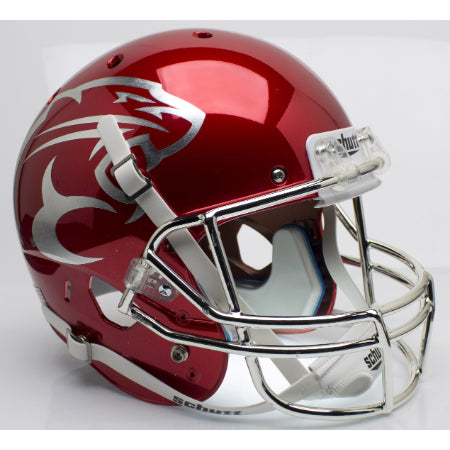 Houston Cougars Chrome Schutt XP Replica Helmet - Alternate 2