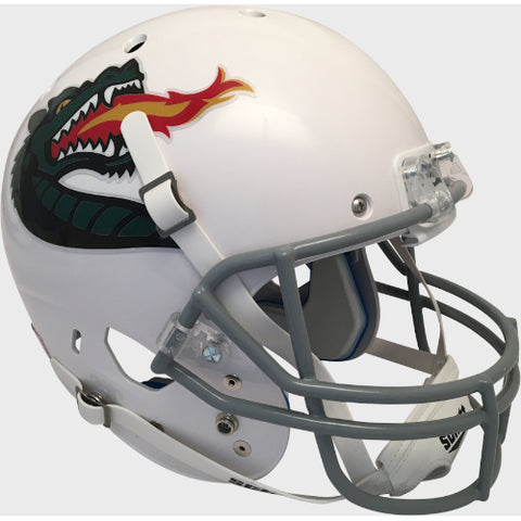 Alabama Birmingham UAB Blazers White with Large Logo Schutt XP Replica Helmet - Alternate 3