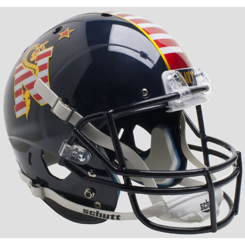 Navy Midshipmen Don't Tread On Me Schutt XP Replica Helmet - Alternate 3