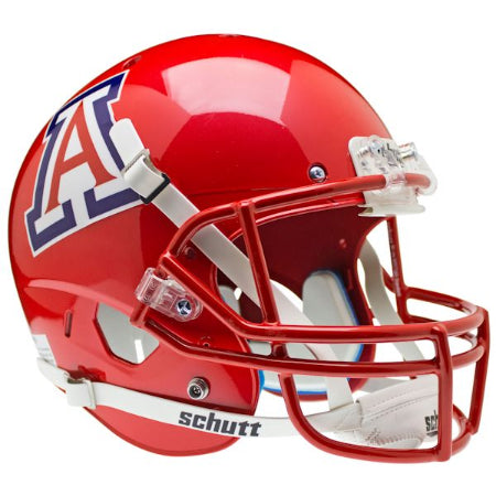 Arizona Wildcats Scarlet Schutt XP Replica Helmet - Alternate 3