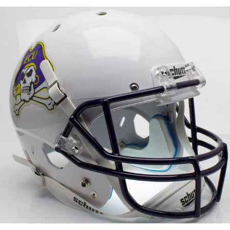 East Carolina Pirates White Schutt XP Replica Helmet - Alternate 3