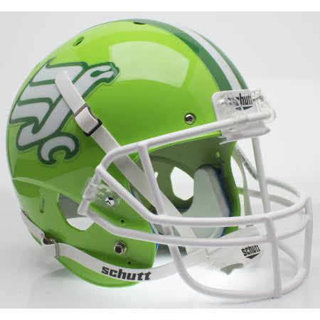 North Texas Mean Green Flying Worm Schutt XP Replica Helmet - Alternate 3