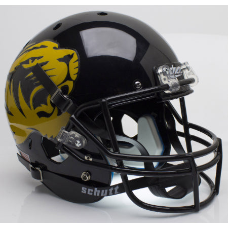Missouri Tigers Large Tiger Logo Schutt XP Replica Helmet - Alternate 4