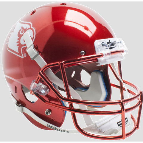 Louisville Cardinals Red Chrome Schutt XP Replica Helmet - Alternate 4
